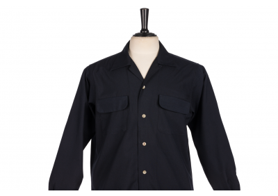 Flap Pocket Dark Blue