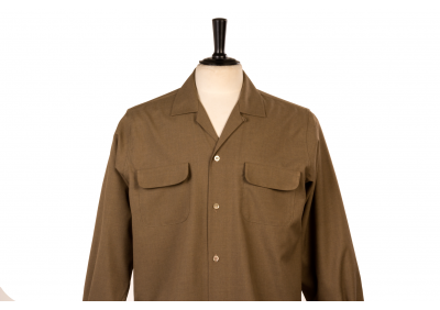 Flap Pocket Brown
