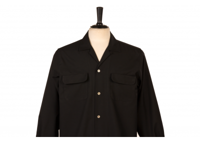 Flap Pocket Black