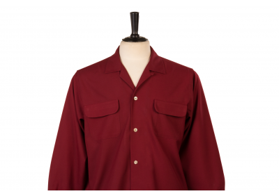 Flap Pocket Red