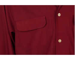 Flap Pocket Red