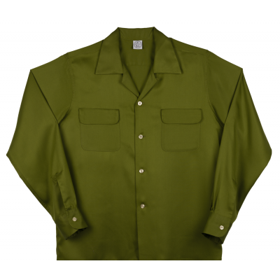 Flap Pocket Green