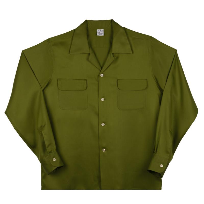 Flap Pocket Green