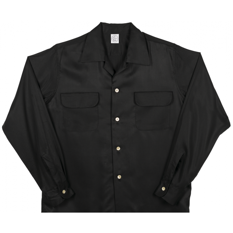 Flap Pocket Black